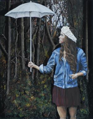 Candace Smith, White Umbrella